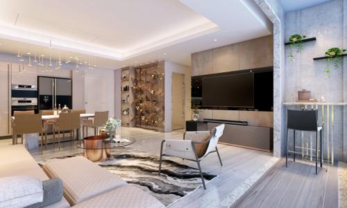 Thế Giới Đèn Gỗ - 8 phong cách thiết kế phòng khách thượng lưu 2