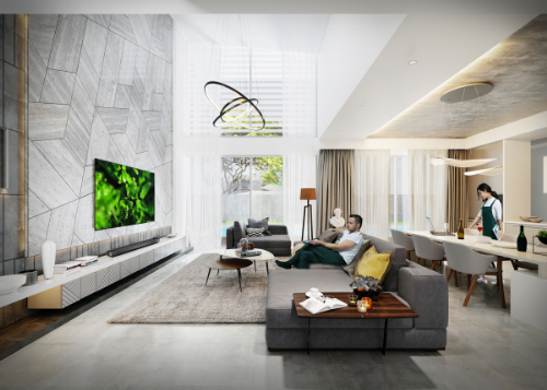 Thế Giới Đèn Gỗ - 8 phong cách thiết kế phòng khách thượng lưu 6