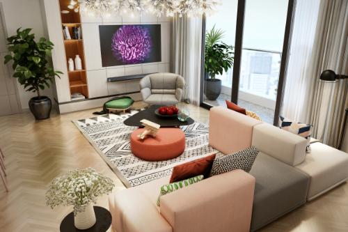Thế Giới Đèn Gỗ - 8 phong cách thiết kế phòng khách thượng lưu 7