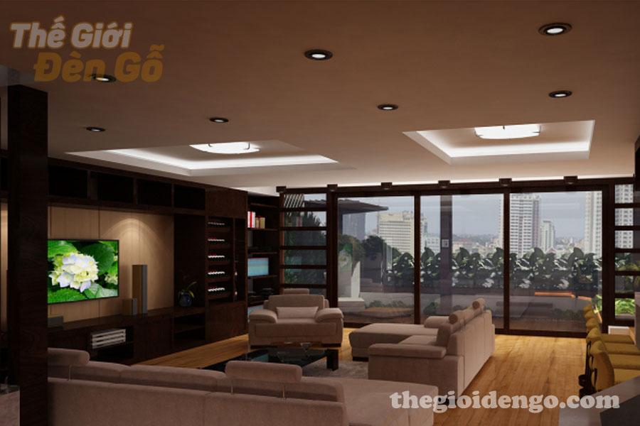 Thế Giới Đèn Gỗ - Thiết kế nội thất gỗ cho căn hộ thêm phần sang trọng 2