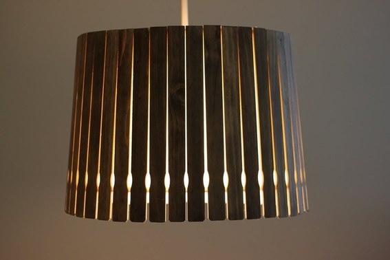 Thế Giới Đèn Gỗ - 8 ý tưởng tự làm đèn chùm bằng gỗ 4
