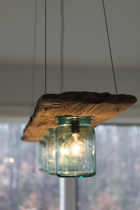 Thế Giới Đèn Gỗ - 8 ý tưởng tự làm đèn chùm bằng gỗ 7