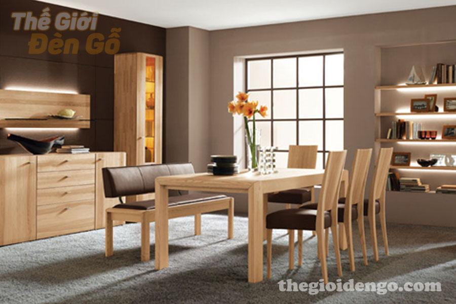 Thế Giới Đèn Gỗ - Những lợi ích khi sử dụng nội thất gỗ