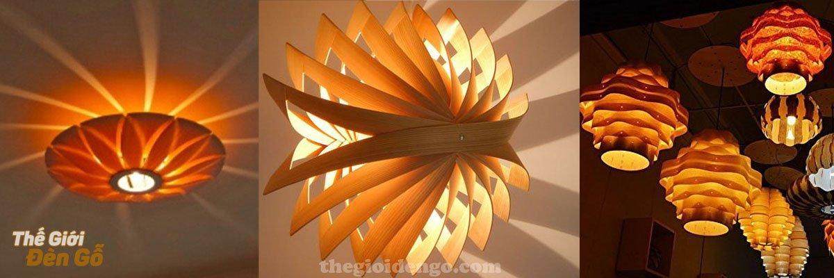 Thế Giới Đèn Gỗ - Đèn gỗ trang trí veneer cao cấp