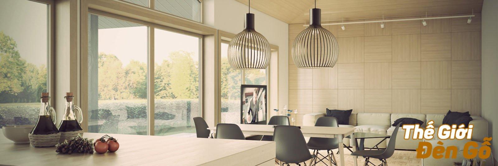 Thế giới đèn gỗ - Đèn gỗ trang trí nội ngoại thất