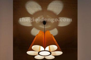 Thế Giới Đèn Gỗ - Đèn gỗ trang trí veneer dgvn103