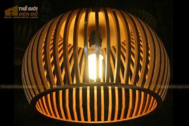 thegioidengo.com - Đèn gỗ trang trí bát tròn 4