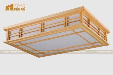 Thế giới đèn gỗ - Hộp đèn gỗ DG103