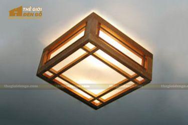 Thế giới đèn gỗ - Hộp đèn gỗ DG106