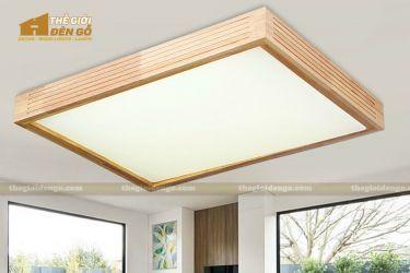 Thế giới đèn gỗ - Hộp đèn gỗ DG108