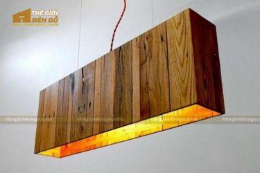 Thế giới đèn gỗ - Hộp đèn gỗ DG111