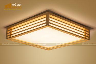 Thế Giới Đèn Gỗ - Hộp đèn gỗ DG114