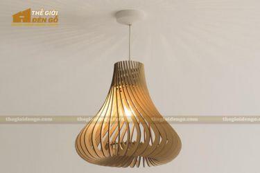 Thế Giới Đèn Gỗ - Đèn gỗ trang trí dg219-1