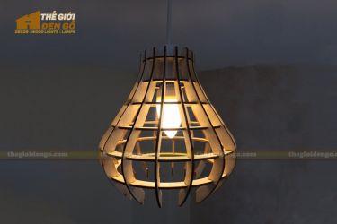 Thế Giới Đèn Gỗ - Đèn gỗ trang trí dg232