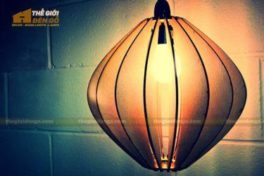 Thế Giới Đèn Gỗ - Đèn gỗ trang trí dg235