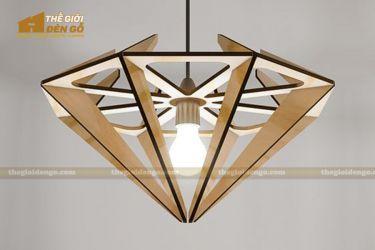 Thế Giới Đèn Gỗ - Đèn gỗ trang trí dg238