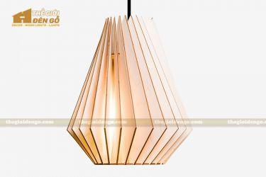 Thế Giới Đèn Gỗ - Đèn gỗ trang trí dg241