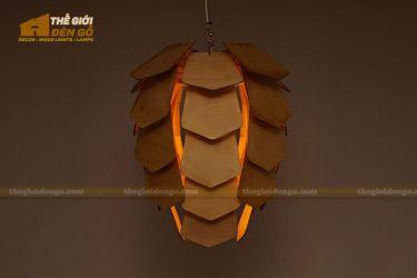 Thế Giới Đèn Gỗ - Đèn gỗ trang trí dg243