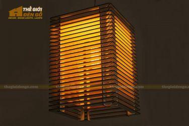 Thế Giới Đèn Gỗ - Đèn gỗ trang trí dg252