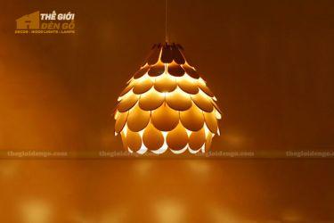 Thế Giới Đèn Gỗ - Đèn gỗ trang trí dg253