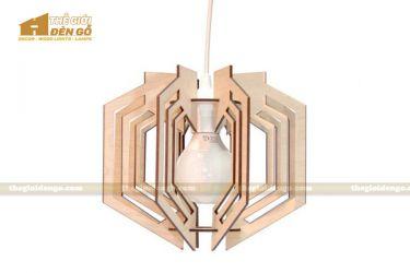 Thế Giới Đèn Gỗ - Đèn gỗ trang trí dg259