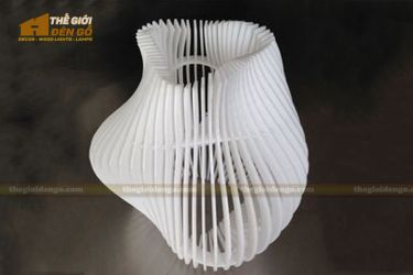 Thế Giới Đèn Gỗ - Đèn gỗ trang trí dg261