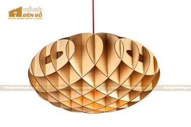 Thế Giới Đèn Gỗ - Đèn gỗ trang trí tổ ong 1