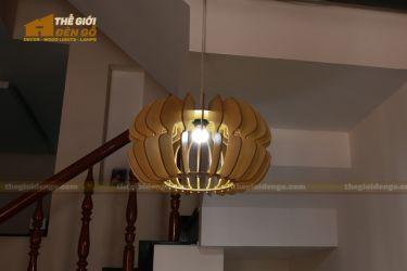 thegioidengo.com - Đèn gỗ trang trí cánh bướm