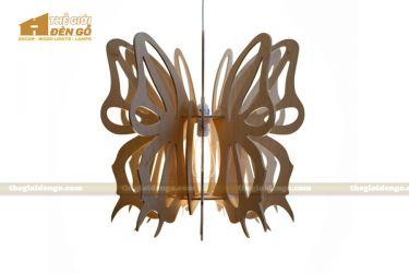 Thế Giới Đèn Gỗ - Đèn gỗ trang trí hình con bướm