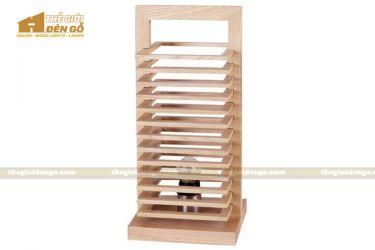 Thế giới đèn gỗ - Đèn gỗ trang trí để bàn TGDG-02