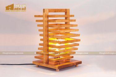 Thế giới đèn gỗ - Đèn gỗ trang trí để bàn TGDG-06