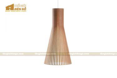 Thế giới đèn gỗ - Đèn gỗ trang trí loa kèn