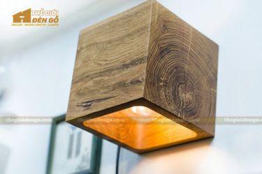 Thế giới đèn gỗ - Đèn gỗ trang trí treo tường DGW005