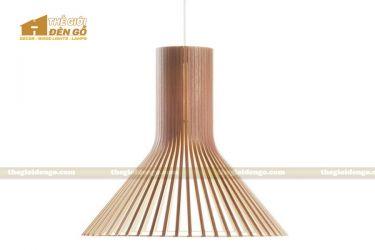 Thế giới đèn gỗ - Đèn gỗ trang trí vòi sen