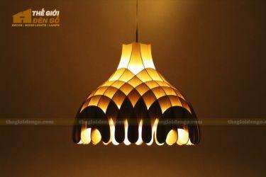 Thế Giới Đèn Gỗ - Đèn gỗ trang trí dg274