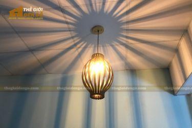 Thế Giới Đèn Gỗ - Đèn gỗ trang trí DG288