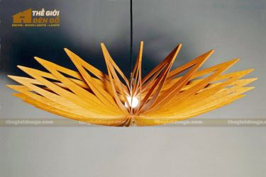 Thế Giới Đèn Gỗ - Đèn gỗ trang trí sao biển