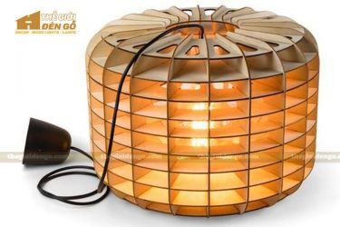Thế Giới Đèn Gỗ - Đèn gỗ trang trí dg281