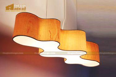 Thế Giới Đèn Gỗ - Đèn gỗ trang trí veneer dgvn119