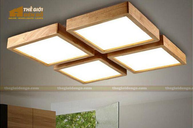 Thế giới đèn gỗ - Hộp đèn gỗ DG109-1