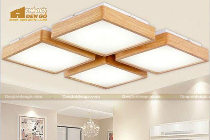 Thế giới đèn gỗ - Hộp đèn gỗ DG109
