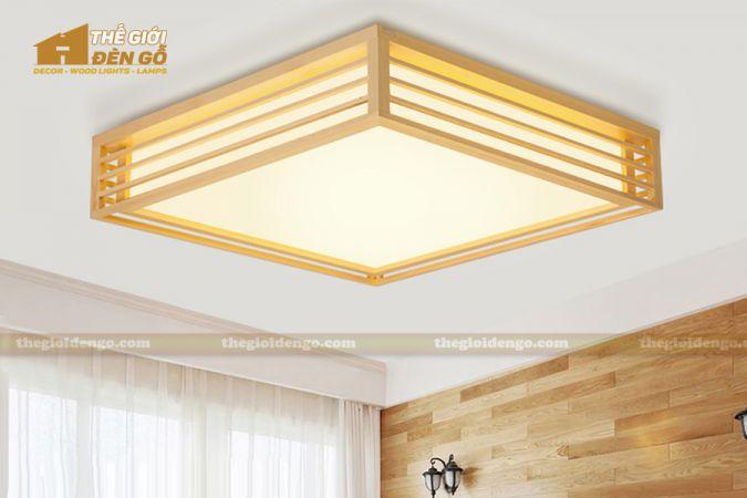 Thế Giới Đèn Gỗ - Hộp đèn gỗ DG114-2