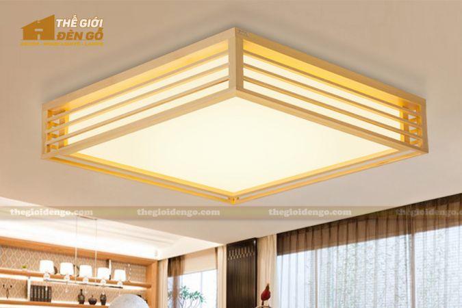 Thế Giới Đèn Gỗ - Hộp đèn gỗ DG114-3