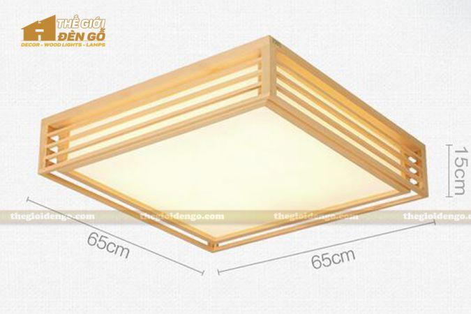 Thế Giới Đèn Gỗ - Hộp đèn gỗ DG114-4