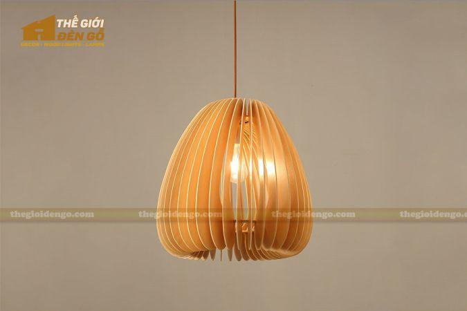 Thế Giới Đèn Gỗ - Đèn gỗ trang trí dg229-1
