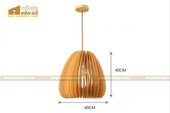 Thế Giới Đèn Gỗ - Đèn gỗ trang trí dg229-2