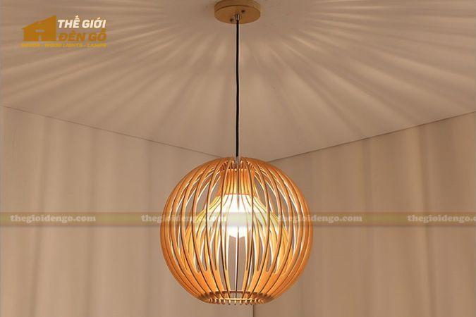 Thế Giới Đèn Gỗ - Đèn gỗ trang trí dg231