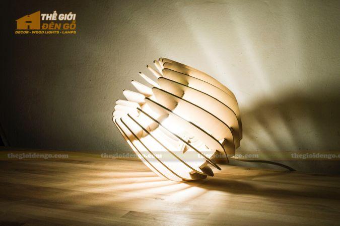 Thế Giới Đèn Gỗ - Đèn gỗ trang trí dg237-2