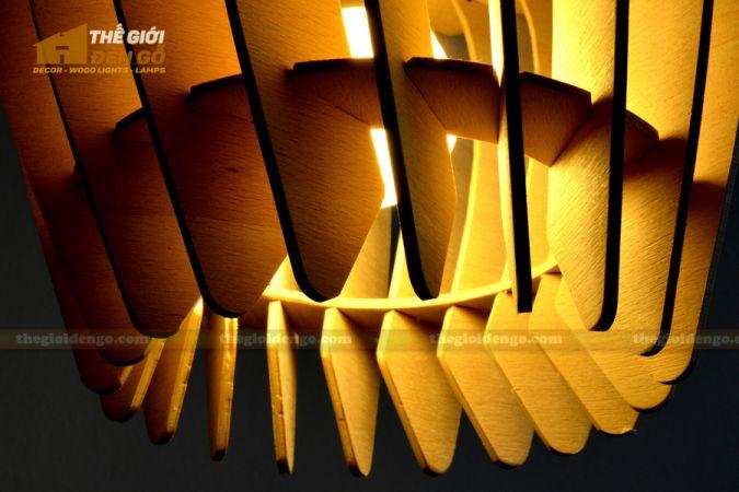 Thế Giới Đèn Gỗ - Đèn gỗ trang trí dg237-3