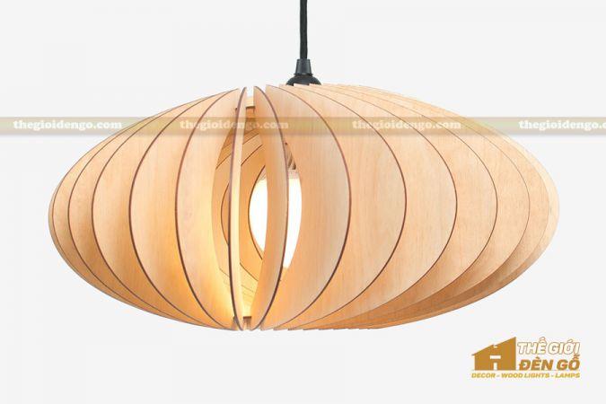 Thế Giới Đèn Gỗ - Đèn gỗ trang trí dg240-1